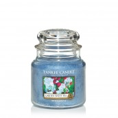 Yankee Candle Garden Sweet Pea Geurkaars Medium Jar Candle (90 branduren)