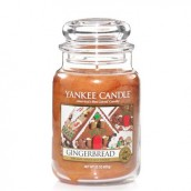 Yankee Candle Gingerbread Geurkaars Large Jar Candle (150 branduren)