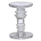 Yankee Candle Glass Candle Stand Large