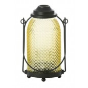 Yankee Candle Glass Lantern Votive Holder Yellow