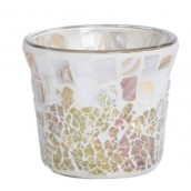 Yankee Candle Gold & Pearl Votive Holder