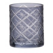 Yankee Candle Grey Etched Star Votive Holder