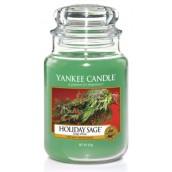 Yankee Candle Holiday Sage Large Jar