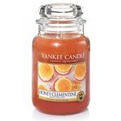 Yankee Candle Honey Clementine Geurkaars Large Jar