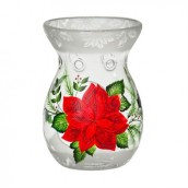 Yankee Candle Iced Poinsettia Melt Warmer