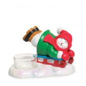 Yankee Candle Jolly Snowmen Tea Light Holder
