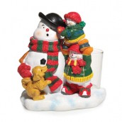 Yankee Candle Jolly Snowmen Votive Holder