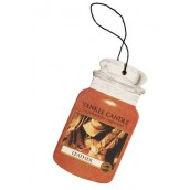 Yankee Candle Leather Car Jar