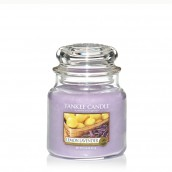 Yankee Candle Lemon Lavender Geurkaars Medium Jar Candle (90 branduren)