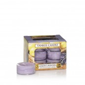Yankee Candle Lemon Lavender Tea Lights (6 branduren)