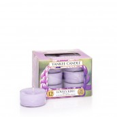 Yankee Candle Lovely Kiku Tea Lights (6 branduren)