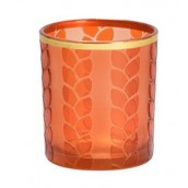 Yankee Candle Maize & Metal Orange Votive Holder