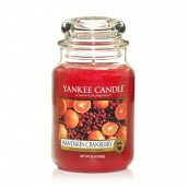 Yankee Candle Mandarin Cranberry Geurkaars Large Jar Candle (150 branduren)