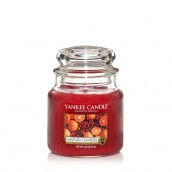 Yankee Candle Mandarin Cranberry Geurkaars Medium Jar Candle (90 branduren)