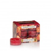 Yankee Candle Mandarin Cranberry Tea Lights (6 branduren)
