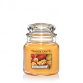 Yankee Candle Mango Peach Salsa Geurkaars Medium Jar Candle (90 branduren)