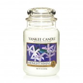 Yankee Candle Midnight Jasmine Geurkaars Large Jar Candle (150 branduren)