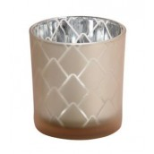Yankee Candle Modern Pinecone Beige Votive Holder