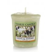 Yankee Candle Olive & Thyme Votive Sampler (15 branduren)
