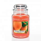 Yankee Candle Orange Splash Geurkaars Large Jar Candle (150 branduren)