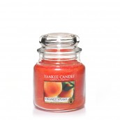 Yankee Candle Orange Splash Geurkaars Medium Jar Candle (90 branduren)