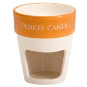 Yankee Candle Painted Plant Pots Melt Warmer terra