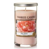 Yankee Candle Peony Medium Pillar