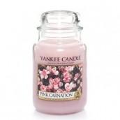 Yankee Candle Pink Carnation Geurkaars Large Jar Candle (150 branduren)