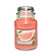 Yankee Candle Pink Grapefruit Geurkaars Large Jar Candle (150 branduren)