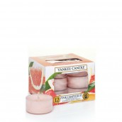 Yankee Candle Pink Grapefruit Tea Lights (6 branduren)