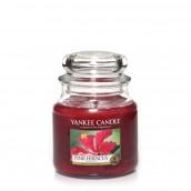 Yankee Candle Pink Hibiscus Geurkaars Medium Jar Candle (90 branduren)
