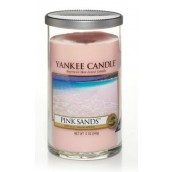 Yankee Candle Pink Sands Medium Pillar