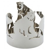 Yankee Candle Polar Bears Jar Holder