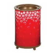 Yankee Candle Red & Gold Snowfall Melt Warmer