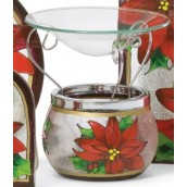 Yankee Candle Red Poinsettia Melt Warmer