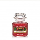 Yankee Candle Red Apple Wreath Geurkaars Small Jar Candle (40 branduren)
