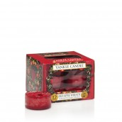 Yankee Candle Red Apple Wreath Tea Lights (6 branduren)