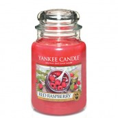 Yankee Candle Red Raspberry Geurkaars Large Jar Candle (150 branduren)