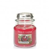 Yankee Candle Red Raspberry Geurkaars Medium Jar Candle (90 branduren)