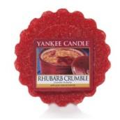 Yannkee Candle Rhubarb Crumble Wax Tart