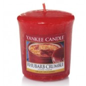 Yankee Candle Rhubarb Crumble Geurkaars Votive Sampler