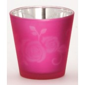 Yankee Candle Rose Votive Holder Pink