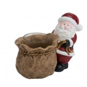 Yankee Candle Santa Push Votive Holder