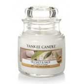 Yankee Candle Sea Salt & Sage Geurkaars Small Jar Candle (40 branduren)