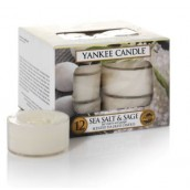 Yankee Candle Sea Salt & Sage Tea Lights (6 branduren)