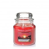 Yankee Candle Serengeti Sunset Geurkaars Medium Jar Candle (90 branduren)