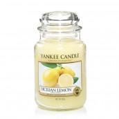 Yankee Candle Sicilian Lemon Geurkaars Large Jar Candle (150 branduren)