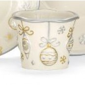 Yankee Candle Silver & Gold Votive Holder