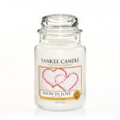 Yankee Candle Snow In Love Geurkaars Large Jar Candle (150 branduren)