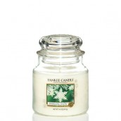 Yankee Candle Sparkling Snow Geurkaars Medium Jar Candle (90 branduren)